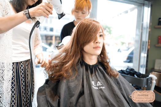台中護髮、深層護髮推薦、護髮療程、夏森髮型