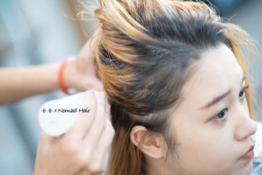 {台北美髮}可可灰棕手刷挑染 『Nomad Hair』染出低調質感