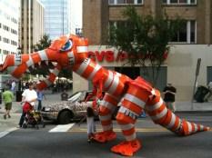 Barrelsaurus Monster