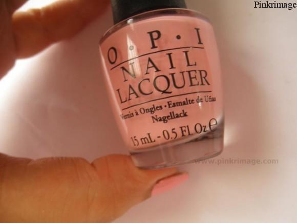 Pink friday nail lacquer