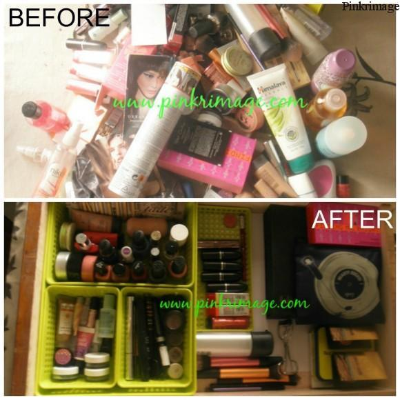 Makeup Organisation Compartments