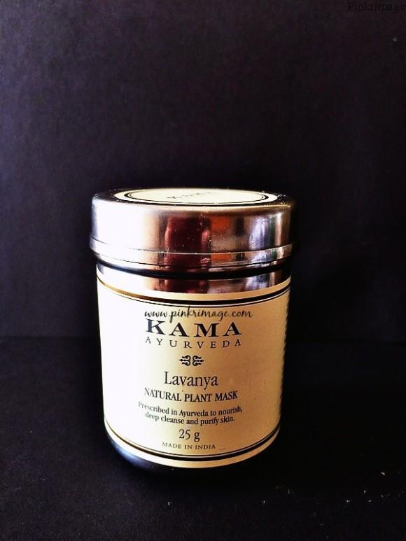 Kama Ayurveda Lavanya Plant face mask