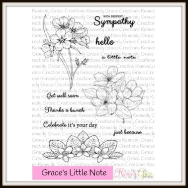 KG Grace's Little Note -April