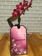 KGC Purple Orchid Tag