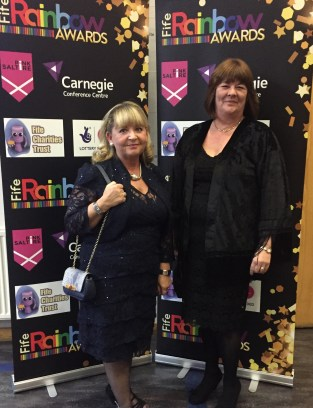 Guests from sponsors Fife Charities Trust arrive at the Gala