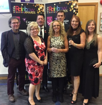 Health Promotion Award winners - Sexual Health Fife