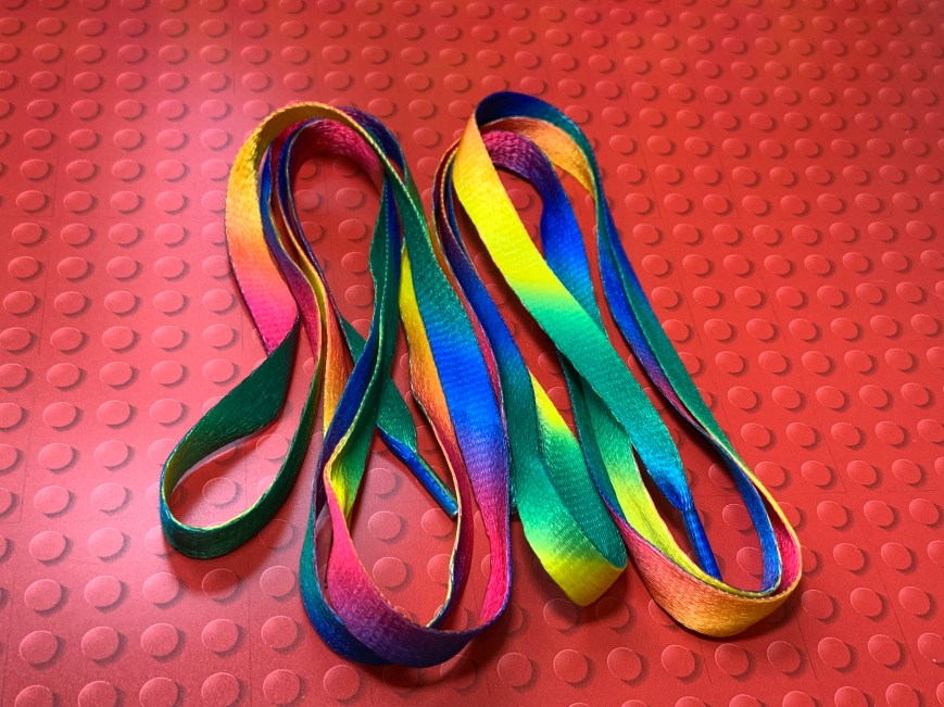 Rainbow Laces Pair (non-Stonewall)