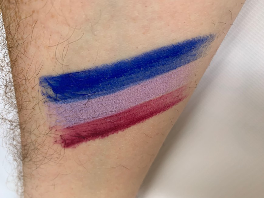 Bisexual Facepaint stick