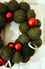 Wooly Wonders Christmas Wreath