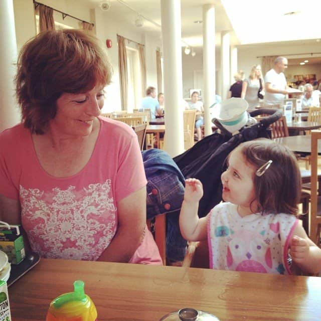 Nanny and Thea
