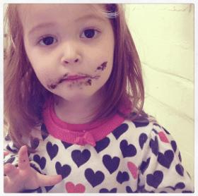 Ava loves chocolate