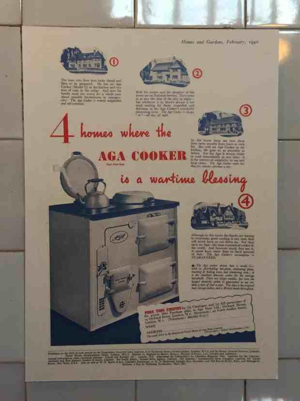 Vintage Aga poster