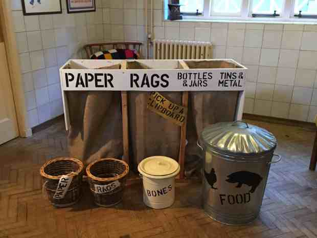 War Recycling at Upton House
