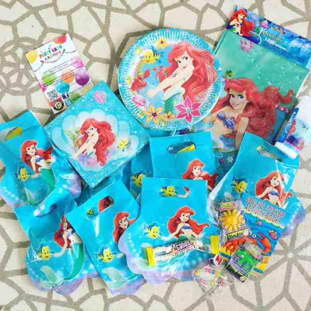 Little Mermaid Party Pack from Party Bags & Supplies