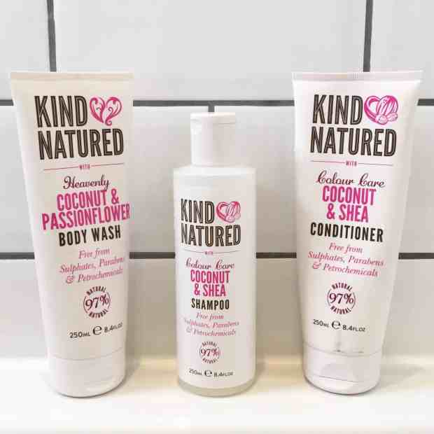 Kind Natured Body Wash, Shampoo and Conditioner