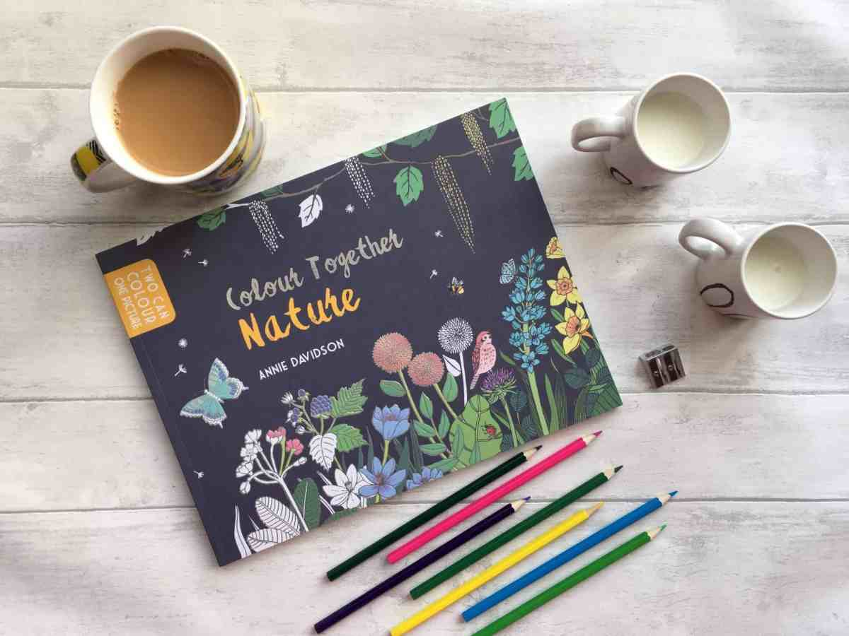 Colour Together Nature Adult and Children's Colouring Book Review