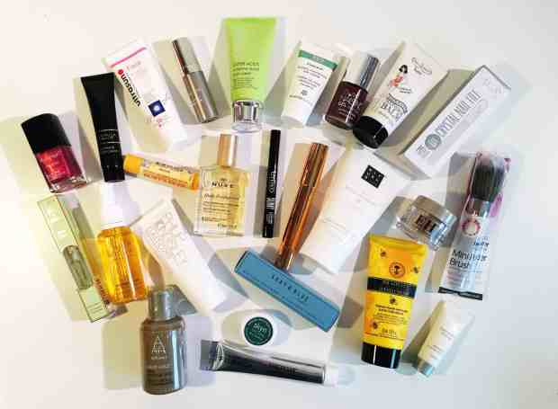 Marks & Spencer Beauty Advent Calendar contents