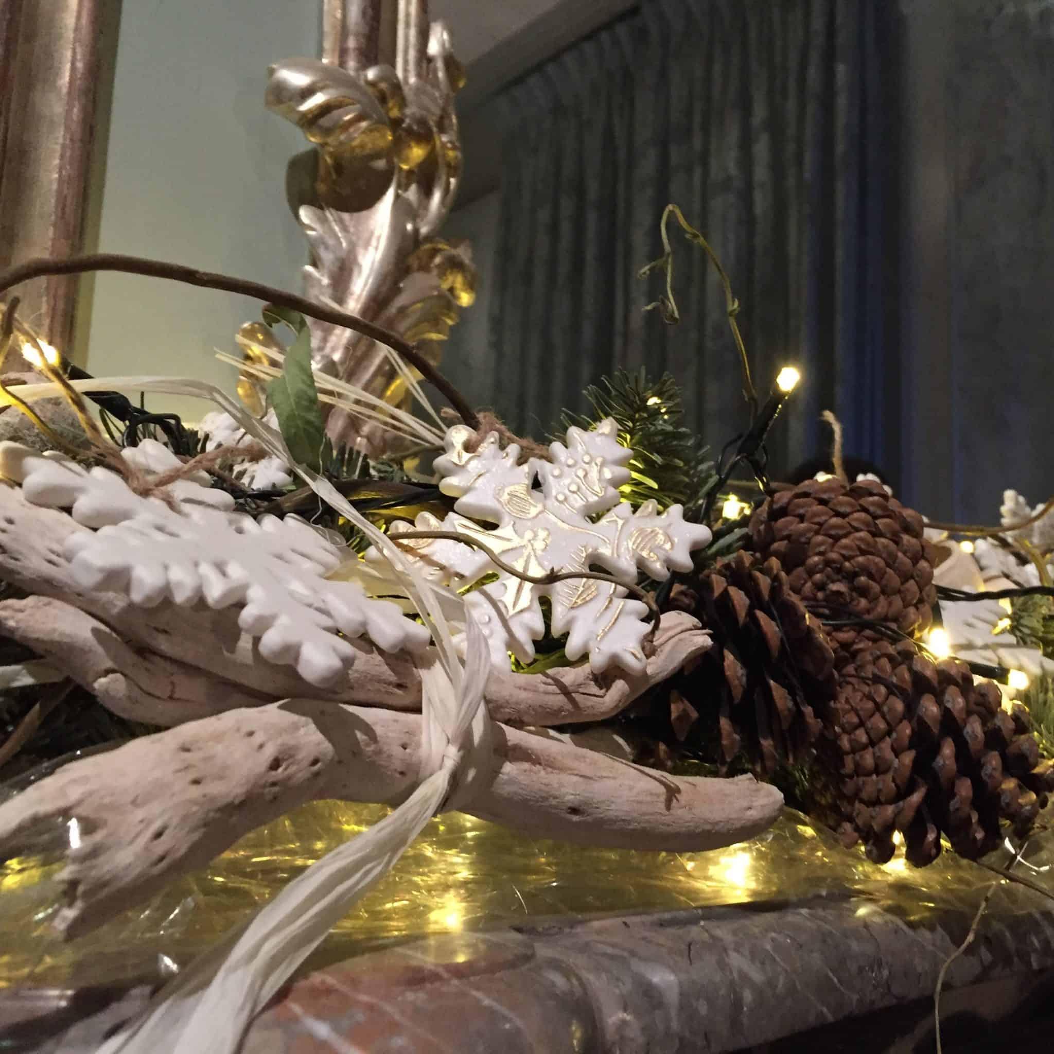 Christmas decorations at Waddesdon Manor
