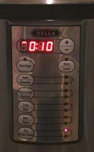 Bella Electric Pressure Cooker