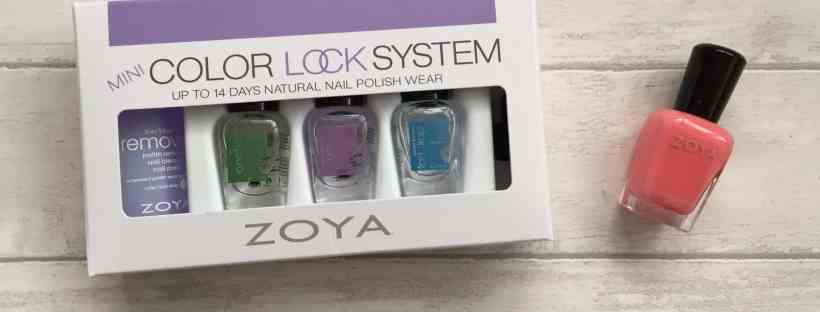 Zoya Natural Nail Polish and Mini Color Lock System