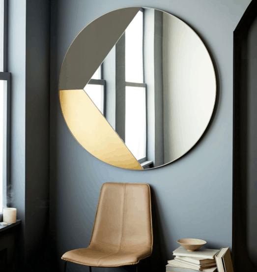 Geo Shapes Wall Mirror