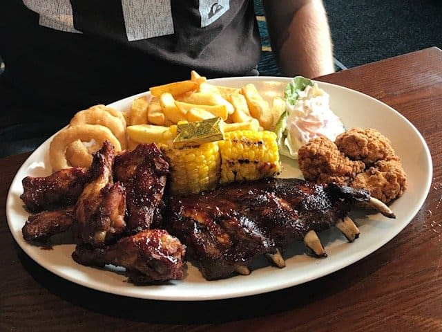 All American Platter at The Giffard Park