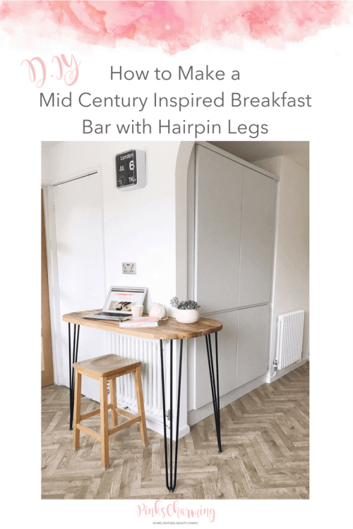 How To Make A Mid Century Inspired Breakfast Bar With