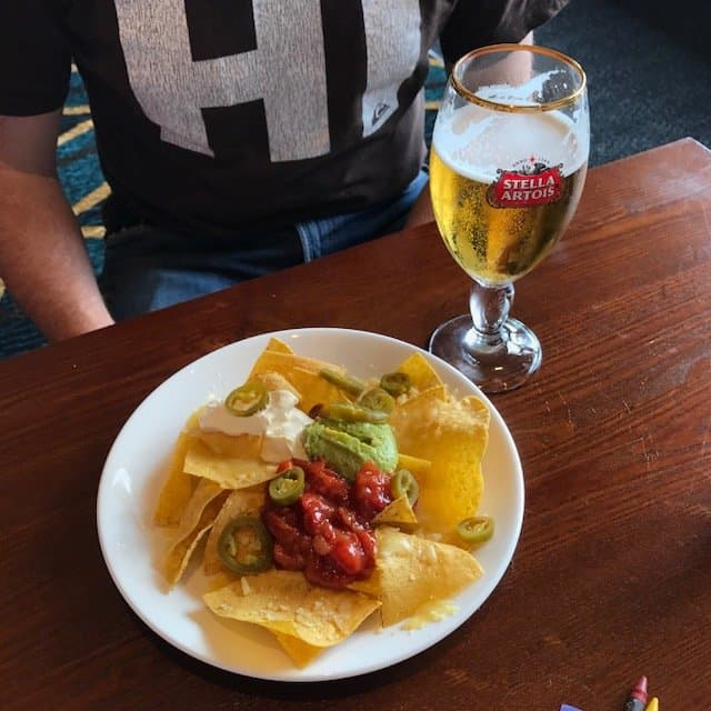 Nachos at The Giffard Park