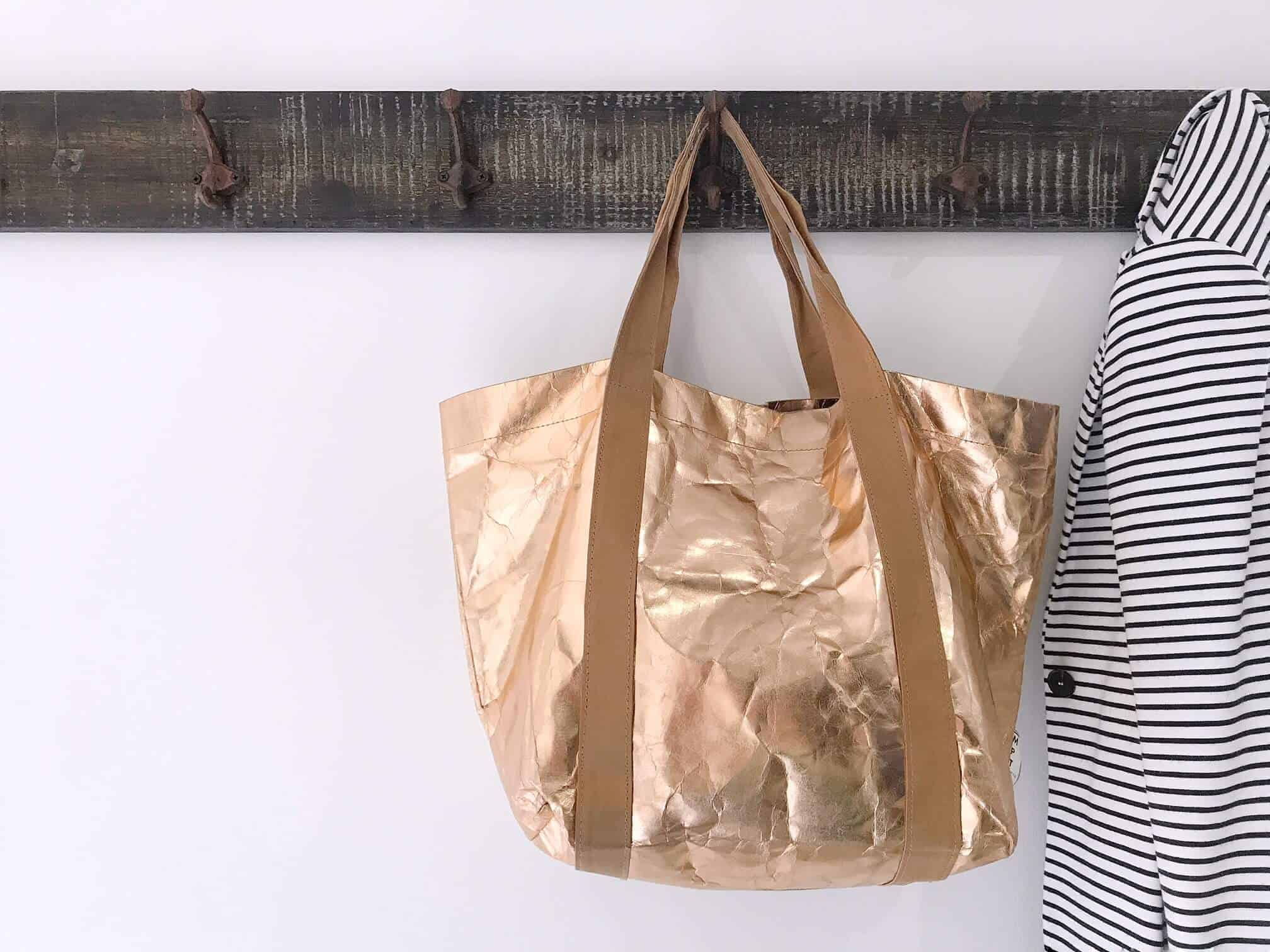 A Sustainable Tote Bag, That's Made of Paper, and Washable! Introducing My Paper Tote