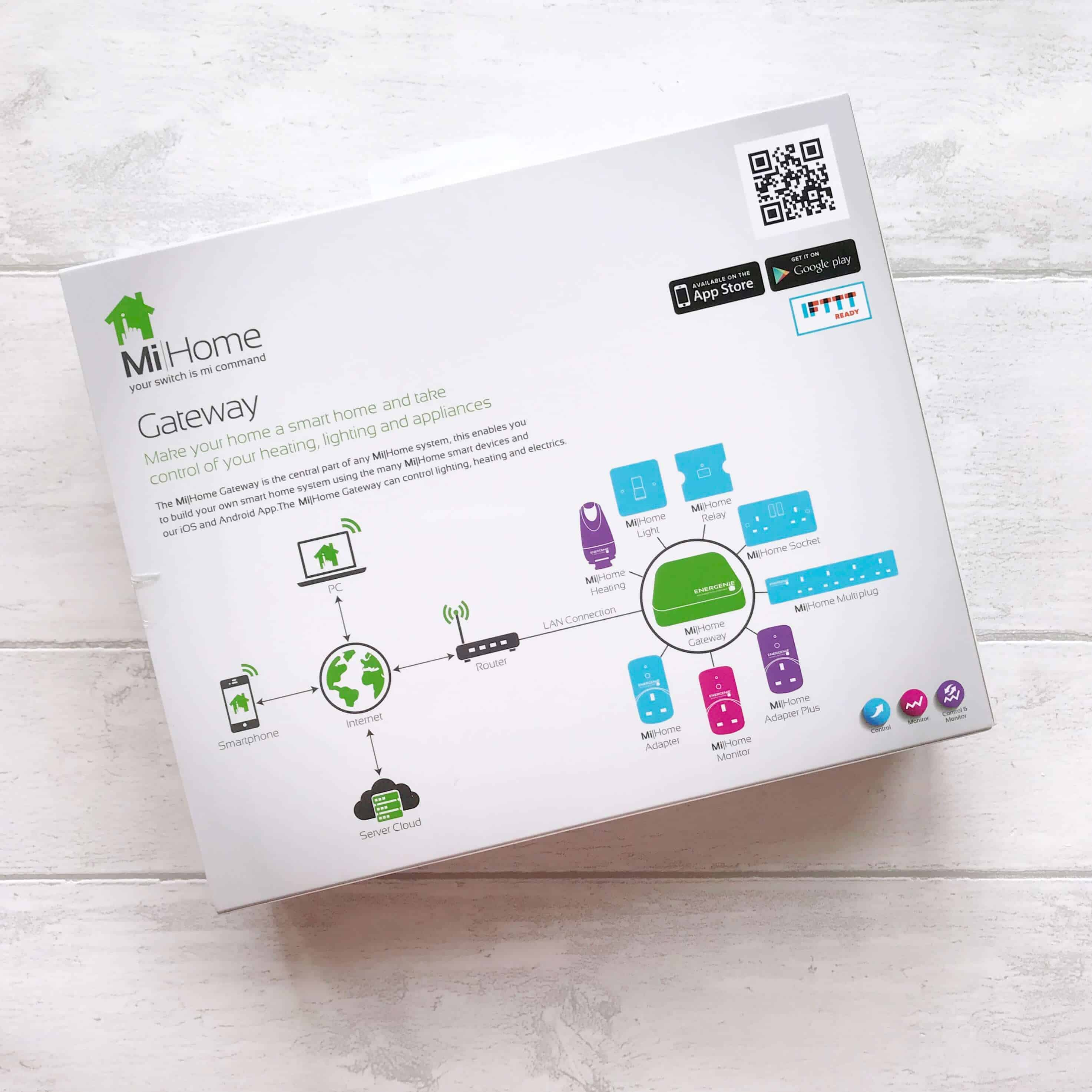 Save energy at home with the Energenie MiHome Gateway