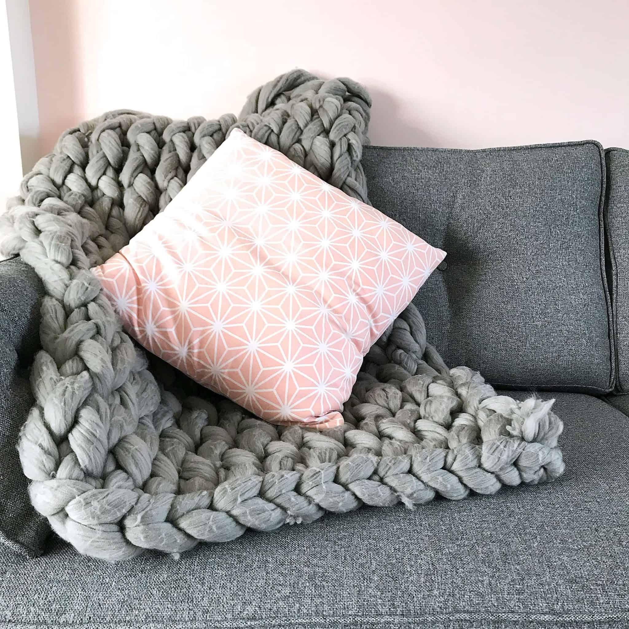 Charcoal Zinc sofa