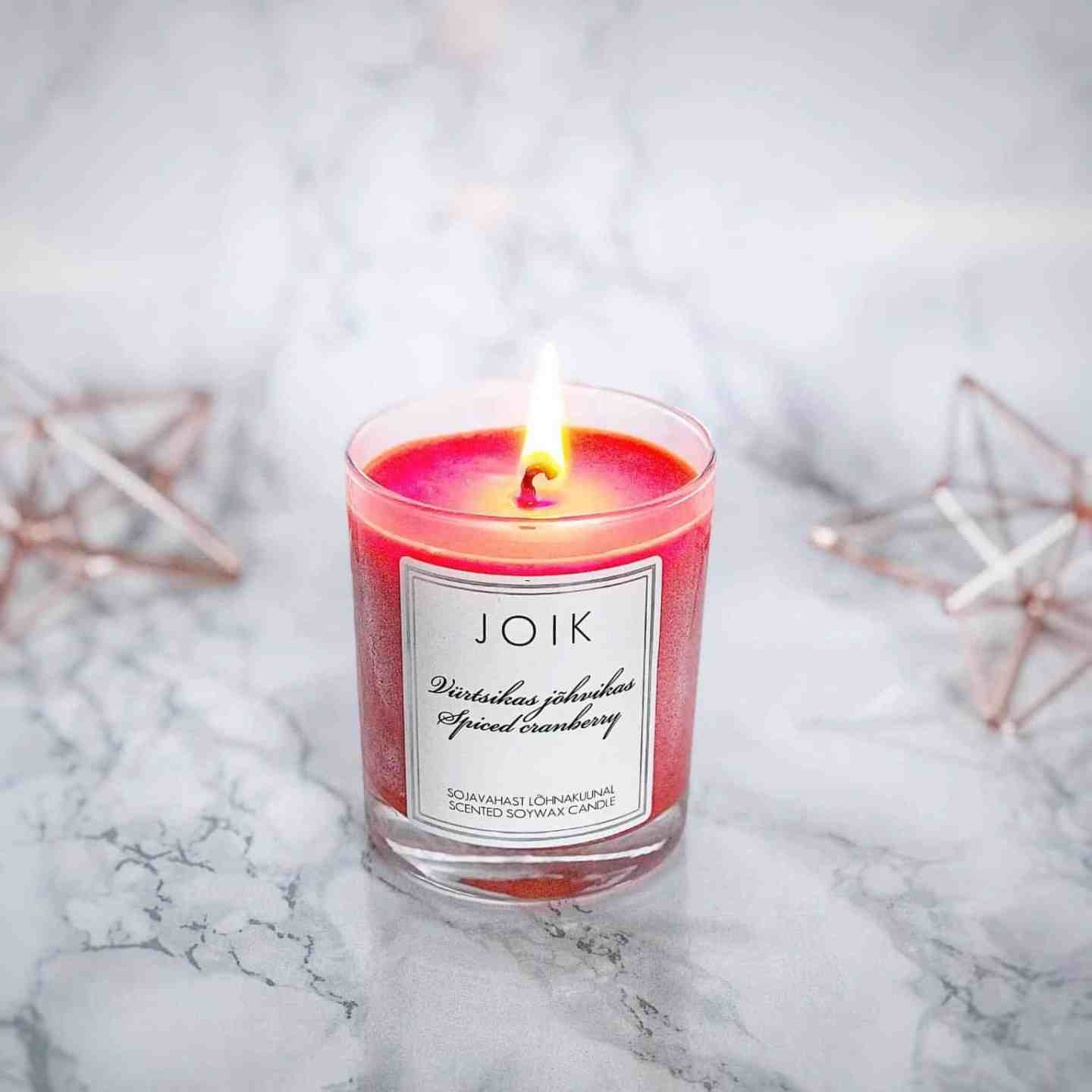 Natural Beauty Gift Guide: Joik Soy Candle