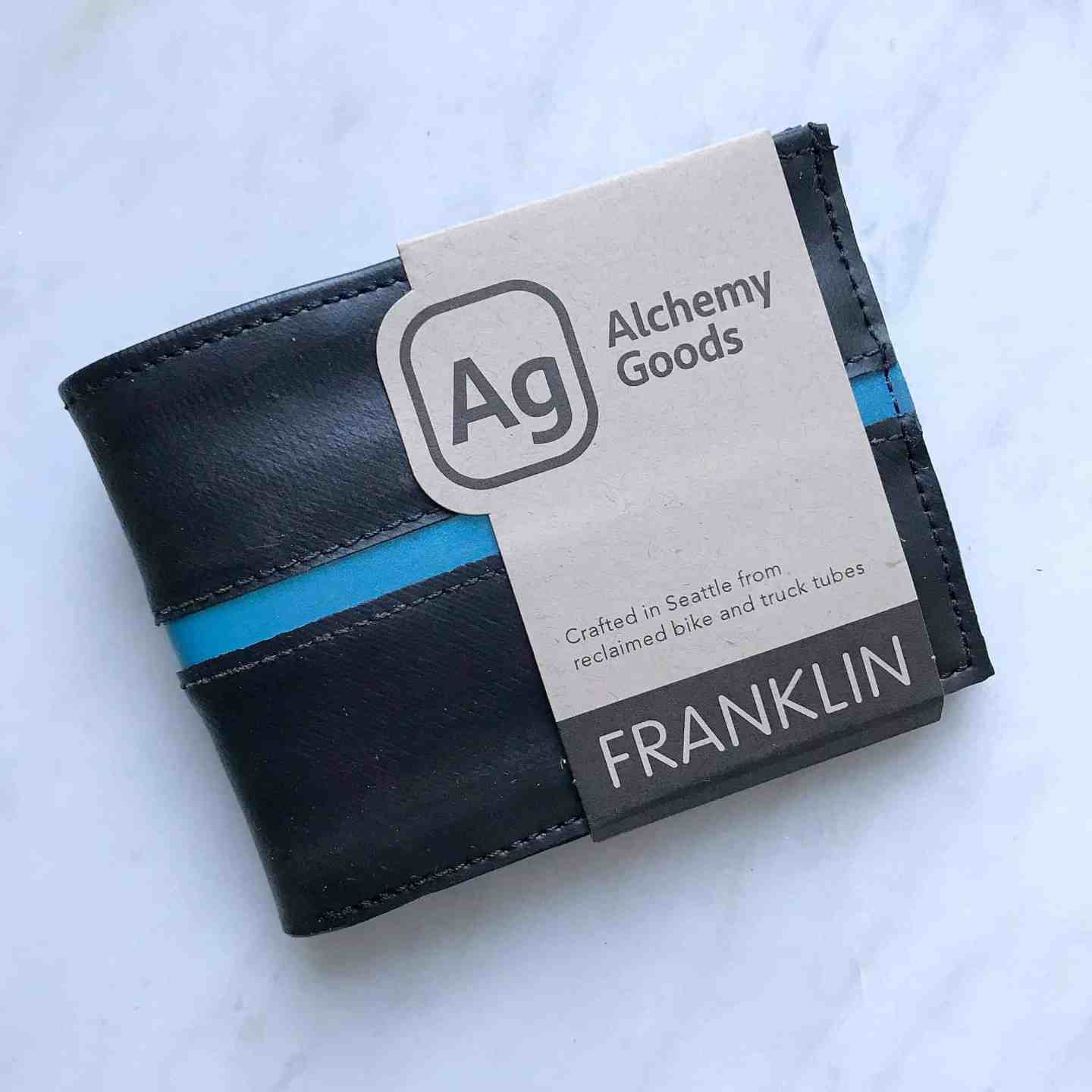 Recycled Alchemy Goods men's wallet from Uncommon Goods