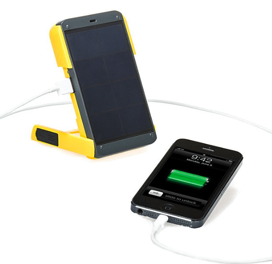 Ethical gifts for him - Solar Powered Charger and Light