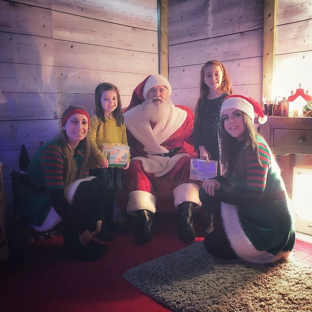 Meeting Santa at Dobbies