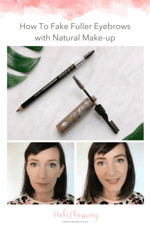 How to fake fuller eyebrows, step by step, with natural make-up