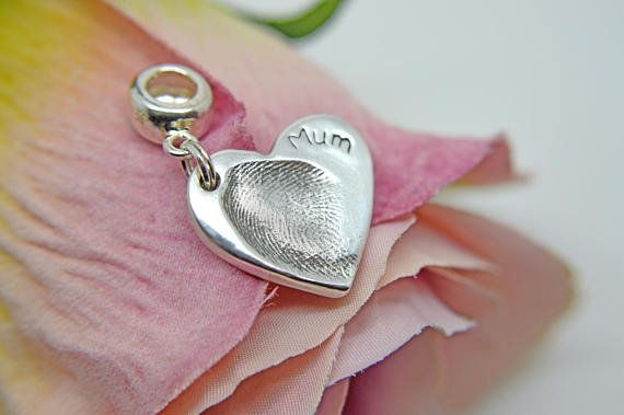 ItsyBitsyImprints Personalised Mother's Day Heart Charm