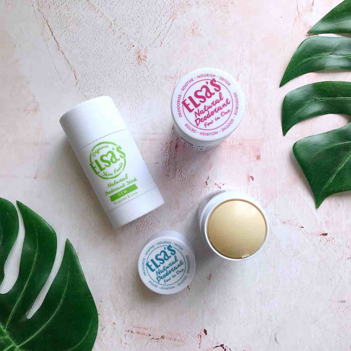 100% natural deodorant that works, in Dew, Love and Ocean