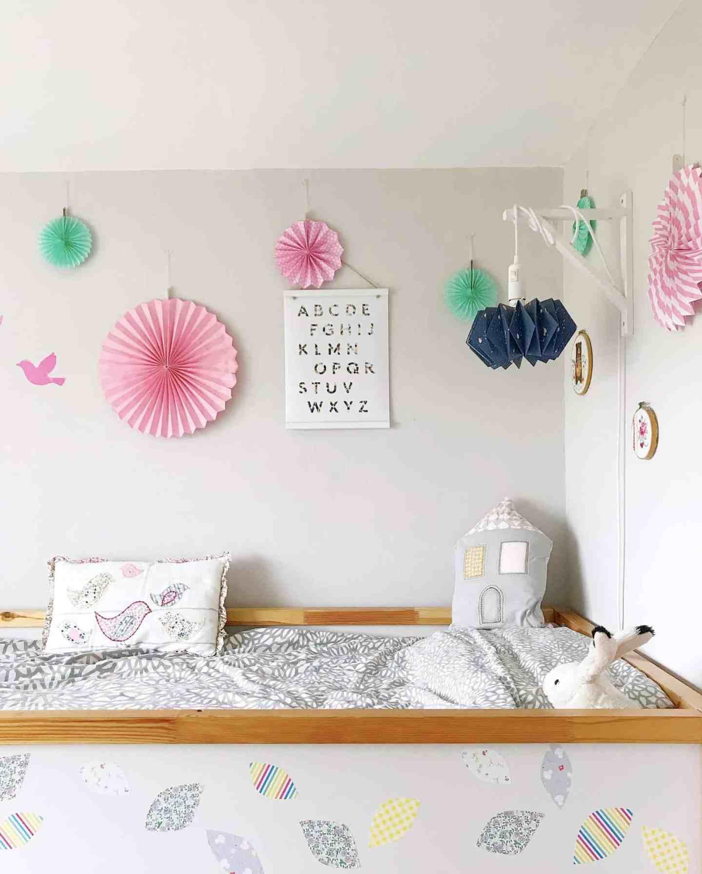 Neutral nursery decor with Niki Jones at Mamas & Papas house cushion