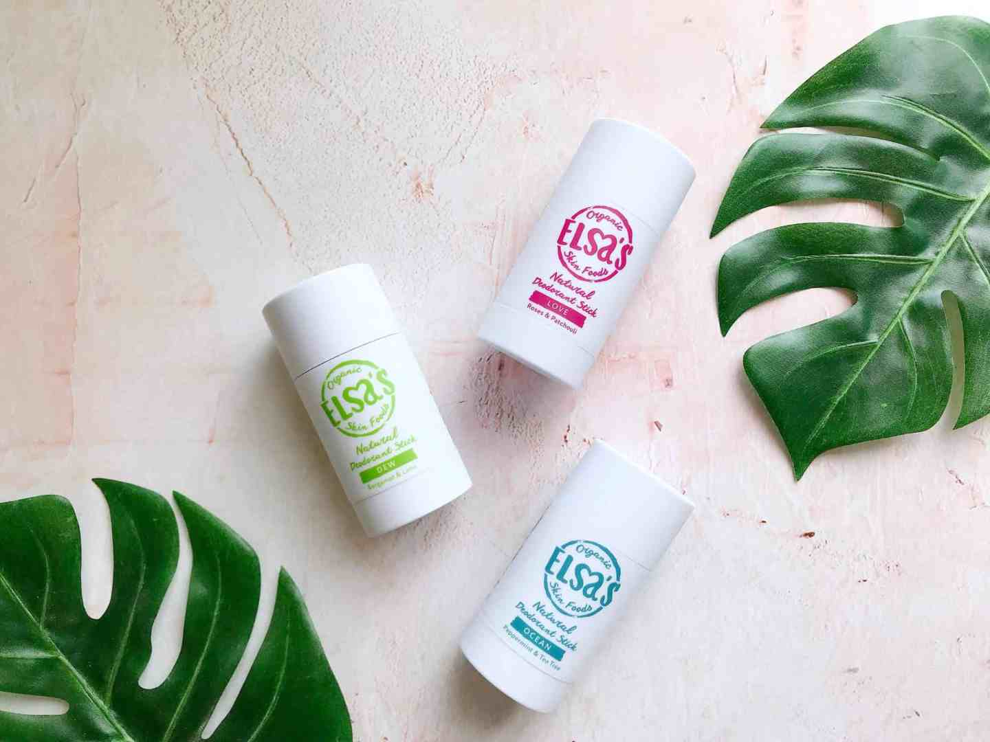 A 100% Natural Deodorant That Works? Meet Elsa's Organic Skinfoods
