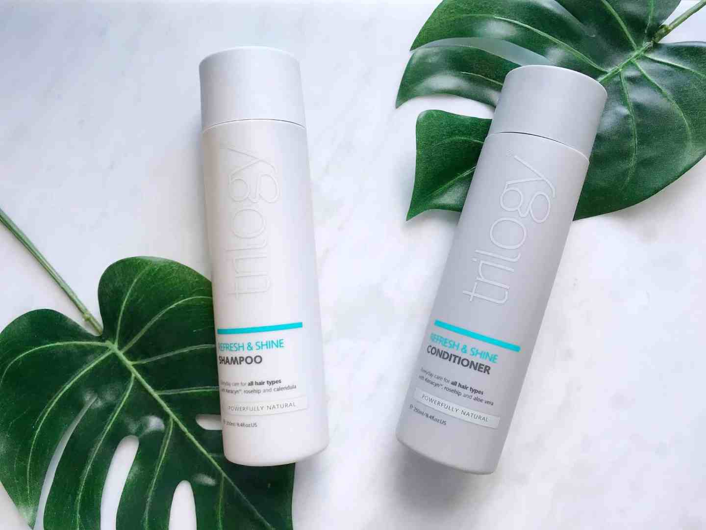Trilogy Refresh and Shine Shampoo and Conditioner Review
