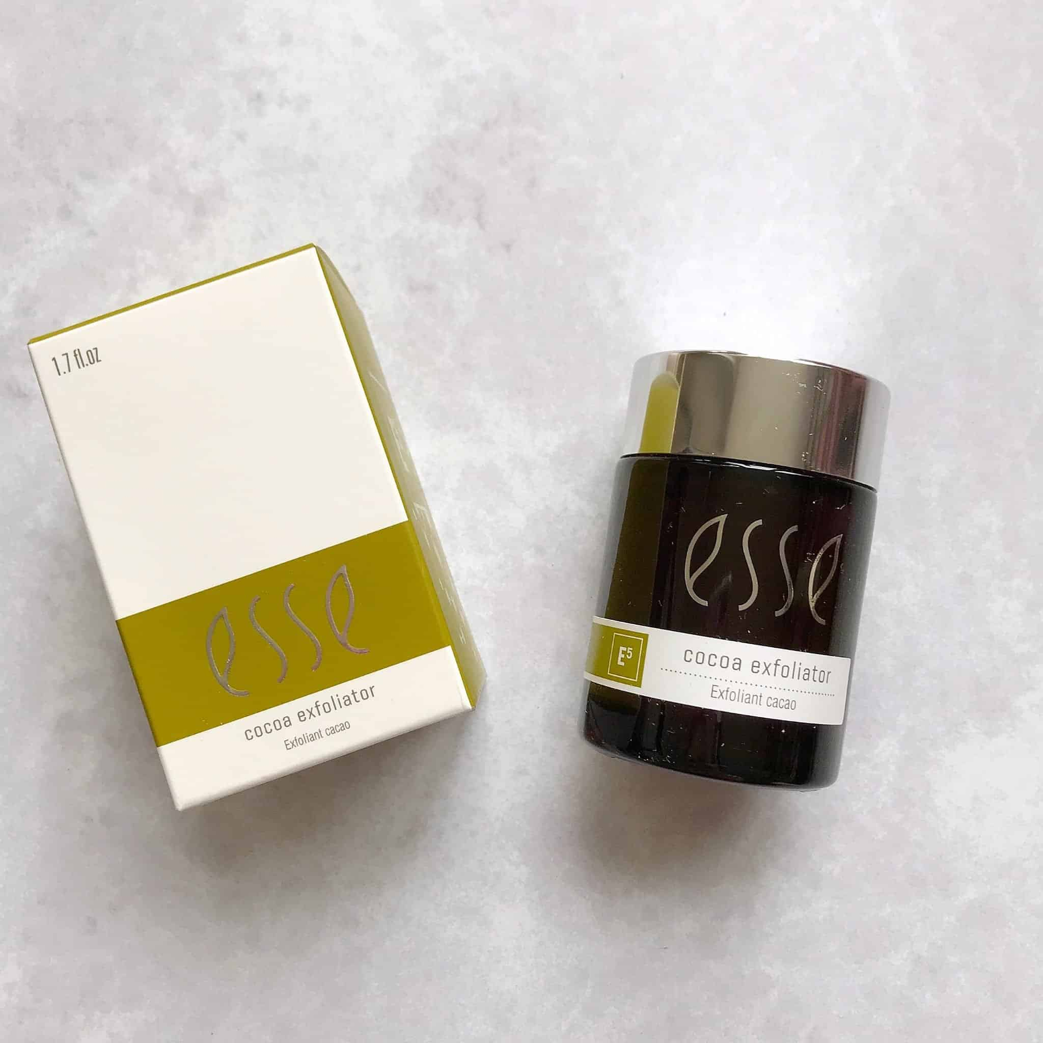 Esse Cocoa Exfoliator Review