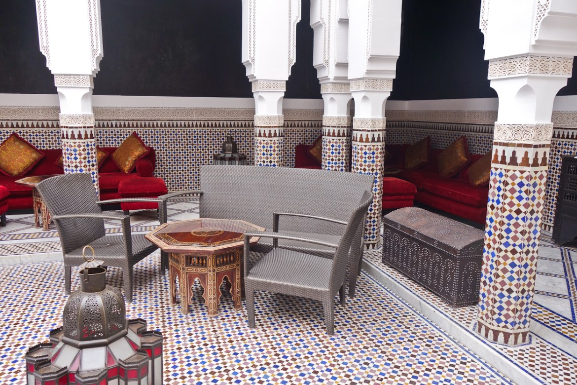 Riad at La Mamounia hotel, Marrakech