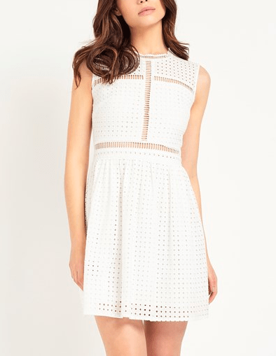 FASHION UNION BRODERIE DRESS