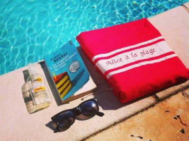 Personalised Beach Towel by HOME BY MERCI MAMAN