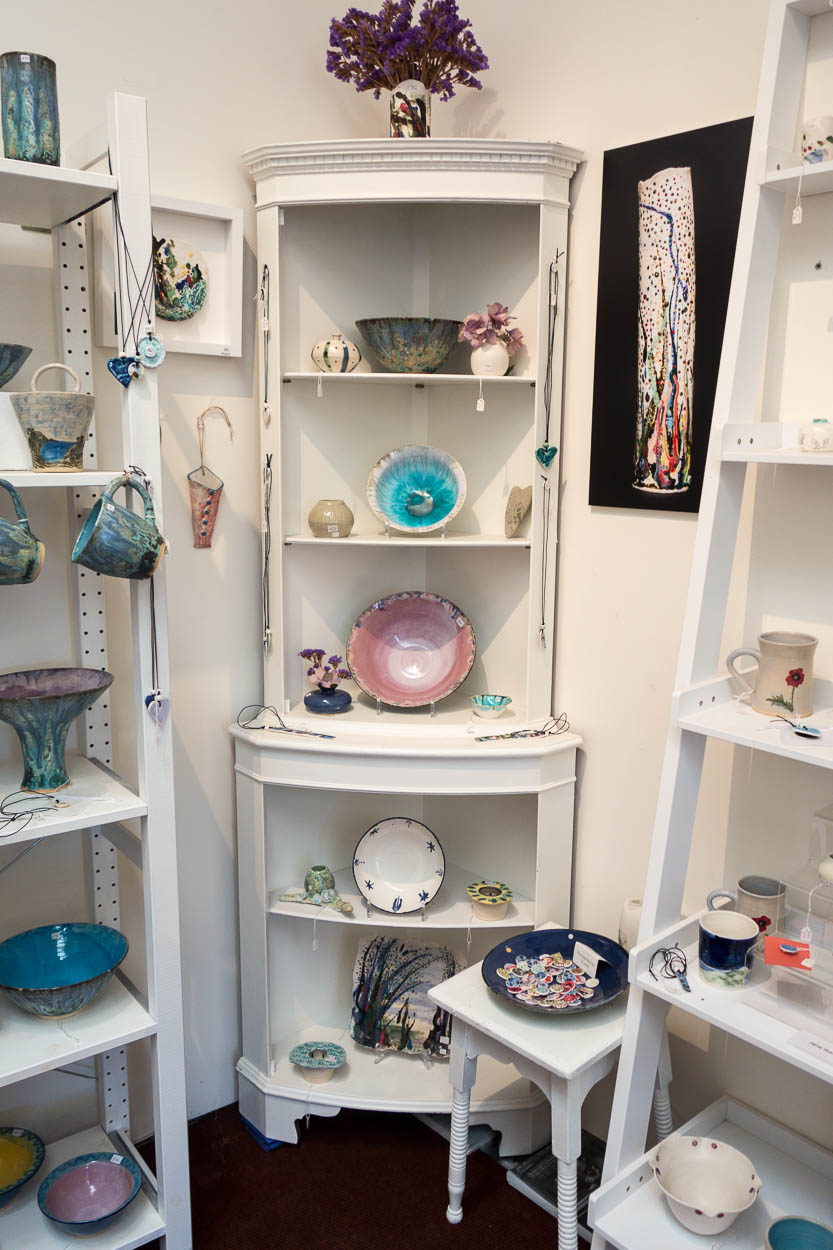 Handcrafted pottery for sale in Charlestown, Cornwall