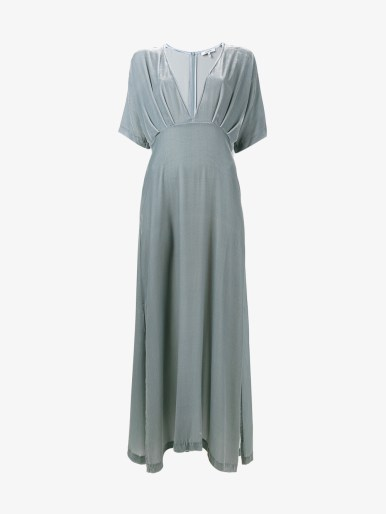 GANNI Hayden Velvet Maxi Dress