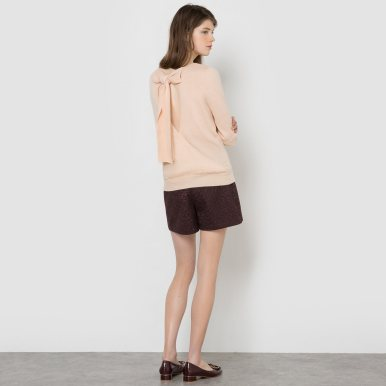la-redoute-open-back-bow-trim-jumper