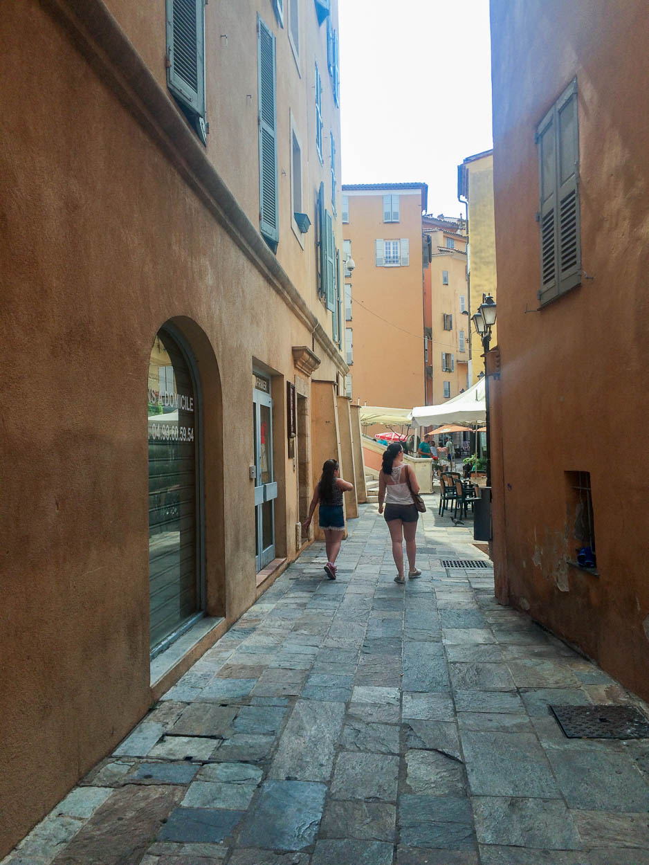 In search of ice cream, Grasse