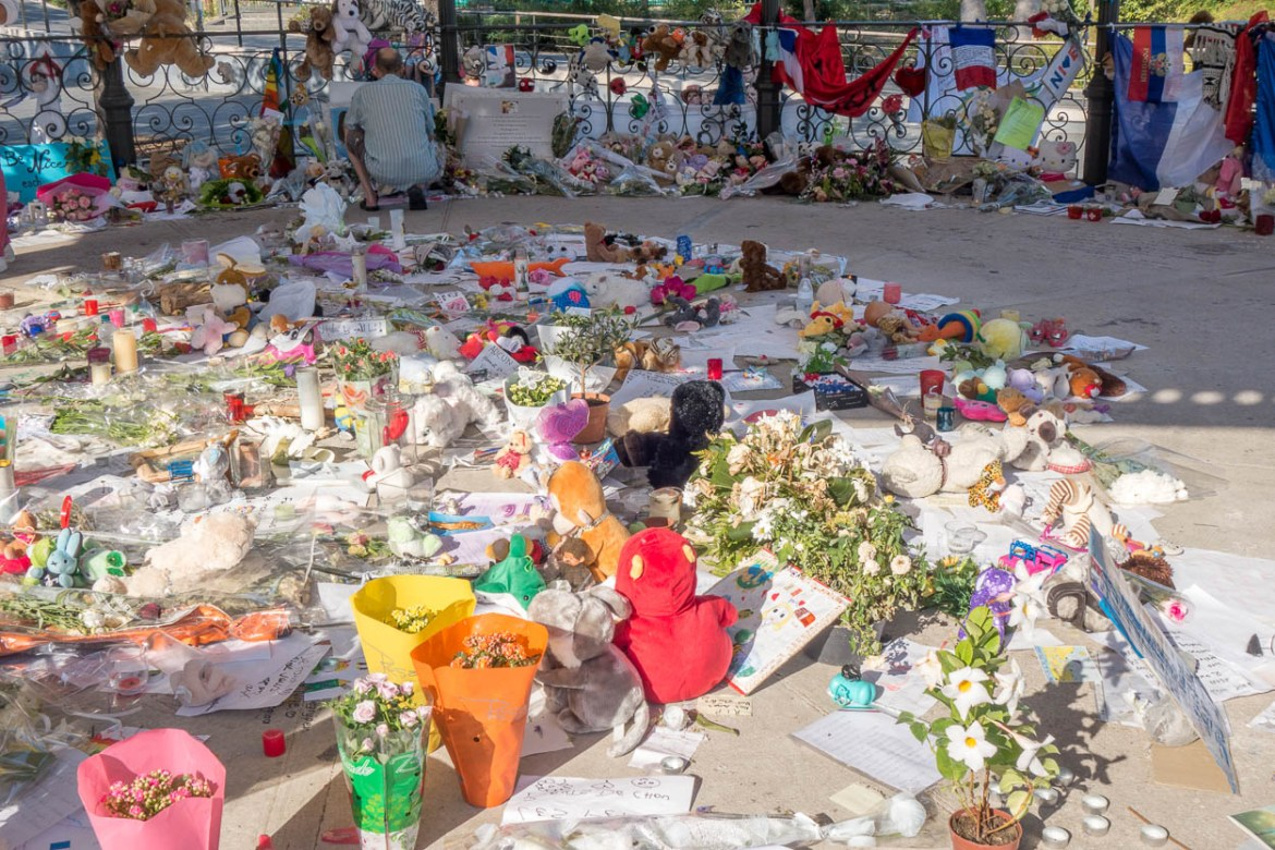 Tributes to victims of the Bastille Day attacks in Nice